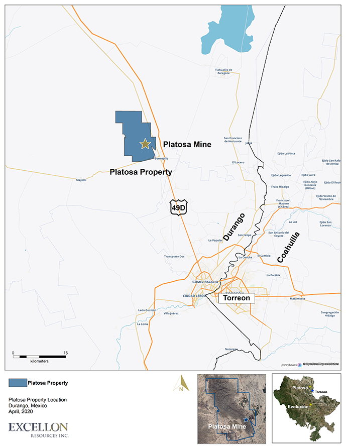La Platosa Property Location